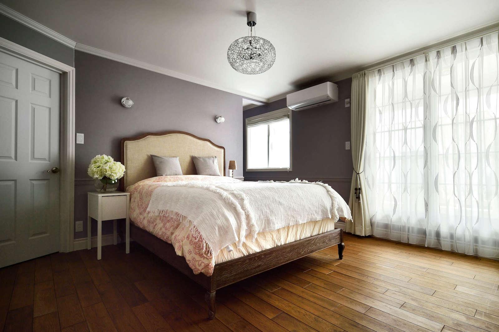 アパルトマン - パリスタイルの寝室